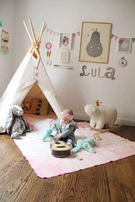tipi enfant chambre un tipi pour une chambre d enfant