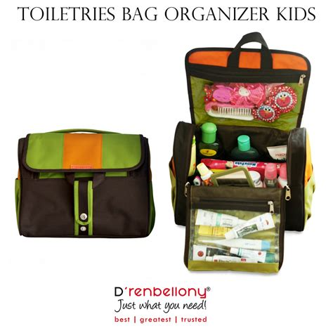 Wash Bag Washbag Tas Perlengkapan Mandi Travel Toiletries Bag toiletries bag organizer for d renbellony