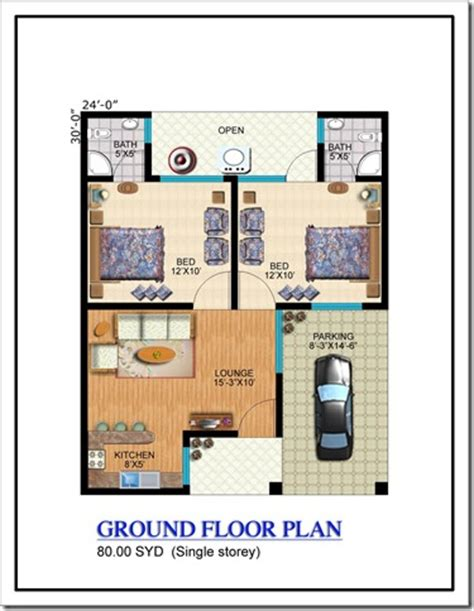 80 yard home design floor plans noman lake villas karachi property blog