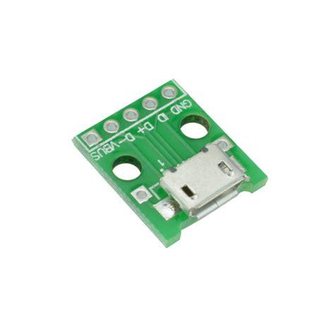 Converter Micro Usb To Usb 20 Socket Micro Usb 5 10 20pcs micro usb to dip adapter 5pin connector pcb converter diy kit