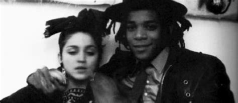 Jean Micheal 03 basquiat took back his paintings from madonna when they