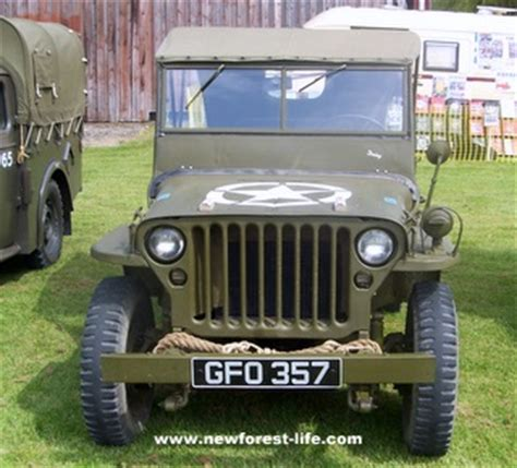 What Year Was Jeep Founded D Day Landings New Forest 65th Anniversary Information