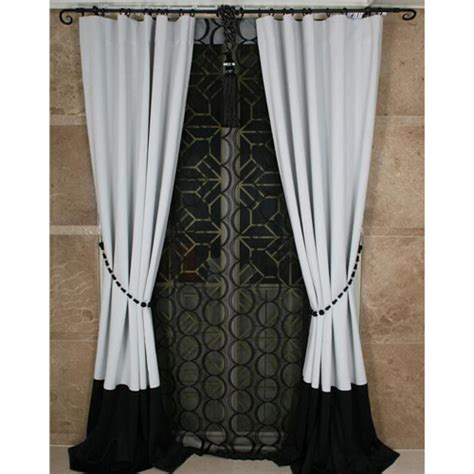 black and white curtains for bedroom custom black and white solid bedroom curtains