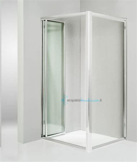 piatto doccia 80x70 vendita box doccia angolare anta fissa porta soffietto