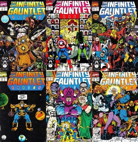 singapore comics collectibles the infinity gauntlet 1