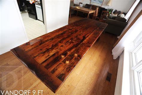 High Gloss Wood Floor Finish by Modern High Gloss Reclaimed Wood Table In Hamilton