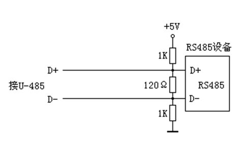 rs485 terminating resistor theory fourstar u 485