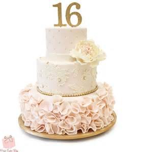 sweet 16 ruffle cake 187 sweet 16 cakes
