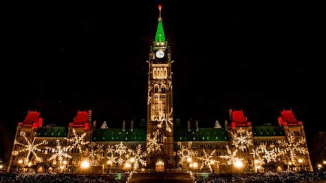 canada christmas lights parliament hill to be lit up for 32nd annual lights across canada
