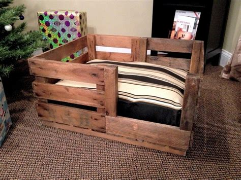 dog beds for crates custom made retired produce crate dog bed dog beds and