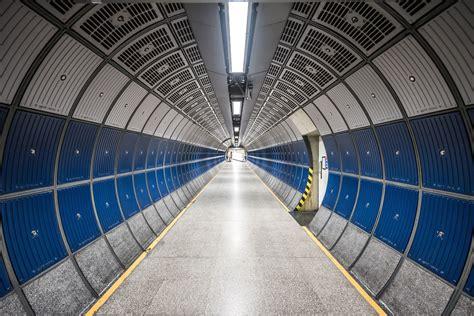 picture underground corridor tunnel