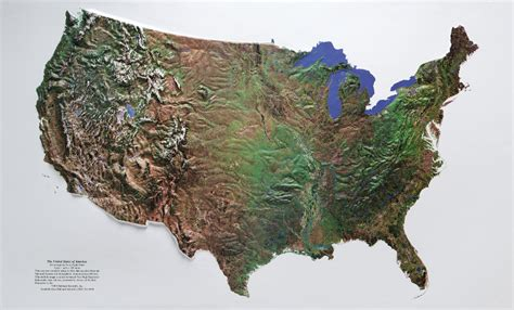 a relief map of the united states satellite image raised relief map of the united states