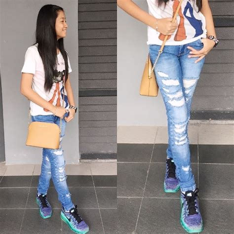 Nike Rubber Denim Abu shearen stevie zara shirt zara ripped nike shoes michael kors sling casual lookbook