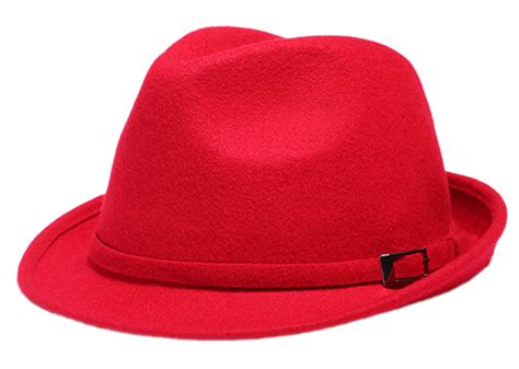 new s cool wool fedora hat cap with bowknot