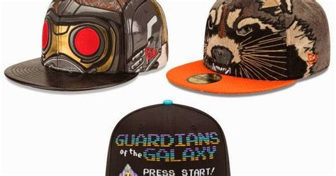 Topi Snapback Things Arcade Merch the blot says guardians of the galaxy new era hat collection