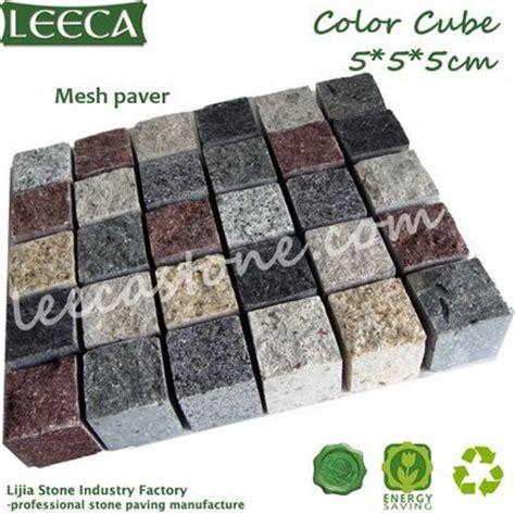 Cobblestone Paver Mats by Cobblestone Mat Color Cube Mesh Paver Leeca The