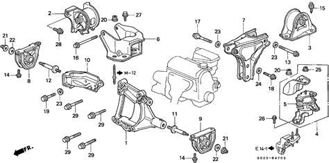 honda civic mounts wiring diagrams wiring diagrams