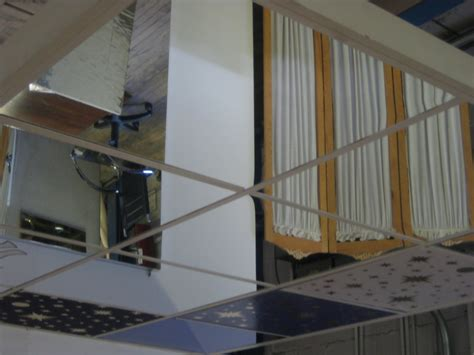 Spiegel Decke by Mirror Ceiling Tiles Tile Design Ideas