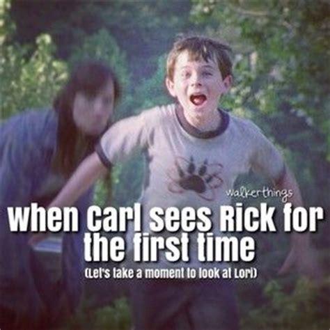 Crying Rick Meme - beautiful scene tear jerker twd carl grimes rick