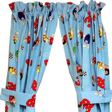 nascar curtains nascar elliot sadler 5pc drapes curtains and valance set