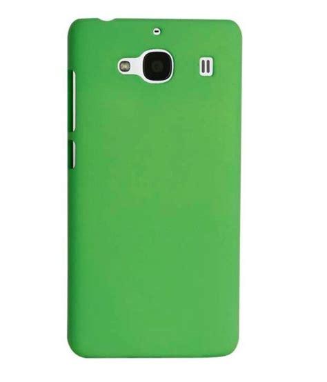 Chevron Cover by Chevron Back Cover For Mi Redmi 2 Prime Green Plain