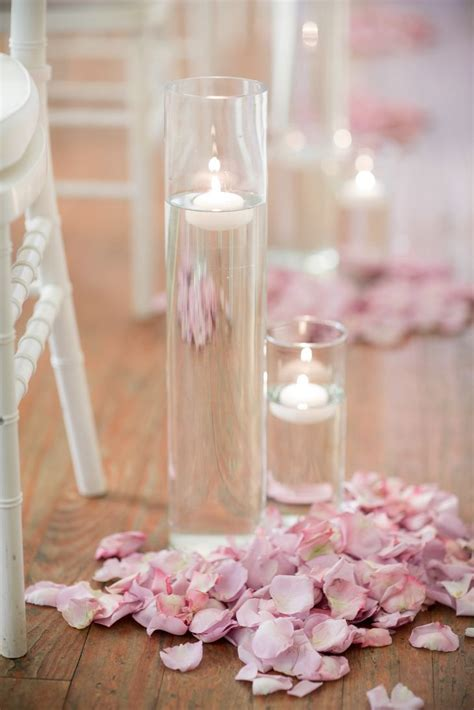 Wedding Aisle Decorations On A Budget by Blush Petal Floating Candle Wedding Ceremony Aisle