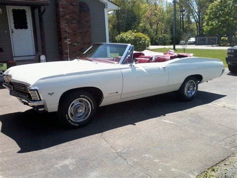 67 impala convertible find used 67 impala ss convertible in holyoke