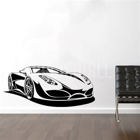 sports wall stickers wall decals sport car wall stickers