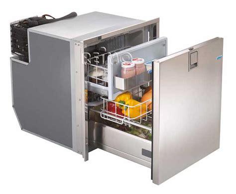 schublade kühlschrank kompressork 252 hlschr mit schublade 12 24v edelstahl 49liter
