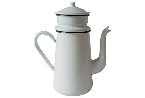 vintage enamel coffee pot biggin omero home