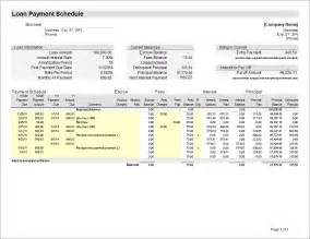 loan spreadsheet template loan amortization schedule and calculator