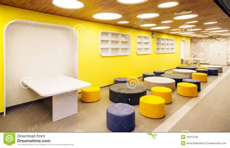 Modern School Interior Design by Modern School Interior Stock Photo Image 43312736