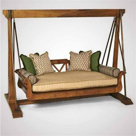swing bed teak swing bed with holder