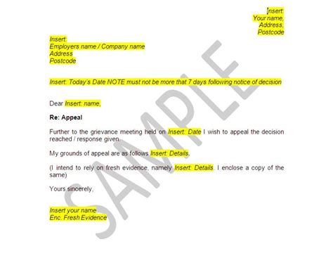 raising a grievance letter template grievance procedure documents employee pack the stop