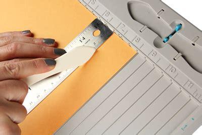 How To Score Paper For Folding - bone folder tool