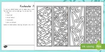 pattern making new zealand make your own kowhaiwhai bookmarks new zealand matariki