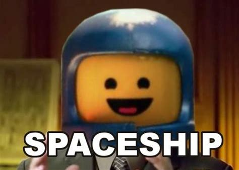 The Lego Movie Meme - benny the space guy from the lego movie hi