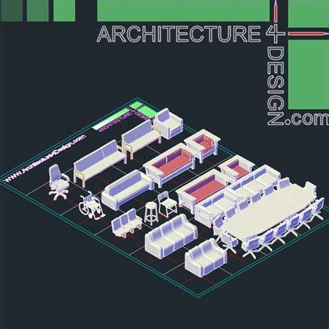 Free 3d Log Home Design Software Download by Autocad 3d Furniture Models Dwg File Architecture For
