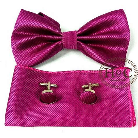 Houseofcuff Blue Bow houseofcuff bowtie dasi kupu polos wedding best pink