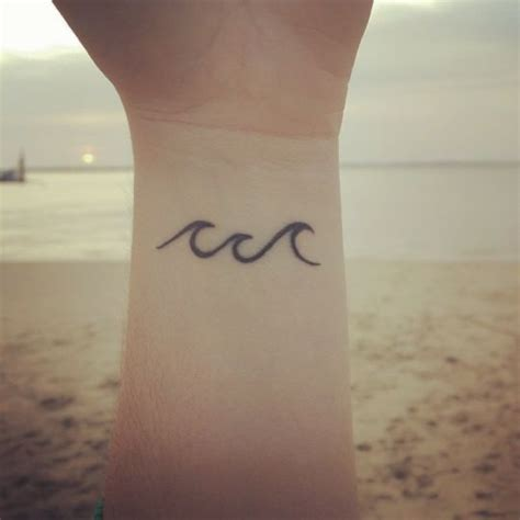 wave wrist tattoo best 25 small wave ideas on wave