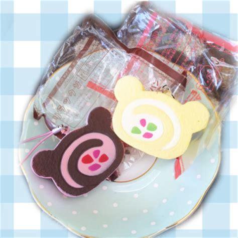 Squishy Roll Cake Rillakuma kawaii rilakkuma cake roll squishy