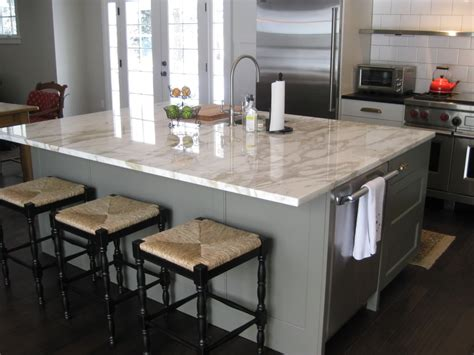 Kitchen Island Tops Beautiful Square Island Corners 12 Quot Overhang On Island
