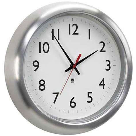 office wall clocks umbra office wall clock in wall clocks