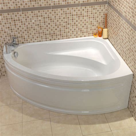 corner bathtub with shower corner baths and back to wall baths victoriaplum com