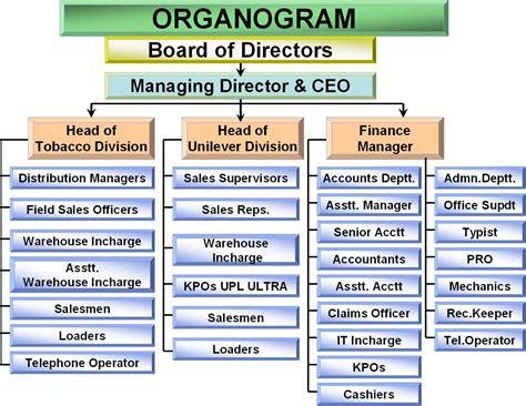 organogram allied marketing