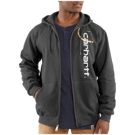 Zip Hoodie Chion Big C carhartt 174 quot big c quot midweight logo zip hooded sweatshirt 227237 sweatshirts hoodies at