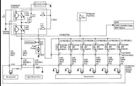 i am looking for the pinout sequence or wiring diagram for a 1999 3 2 v6 isuzu trooper so as to