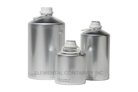aluminium bottle elemental container industrial aluminum bottles cans