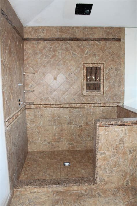 Porcelain Tile For Bathroom Shower Custom Porcelain Tile Shower New Jersey Custom Tile
