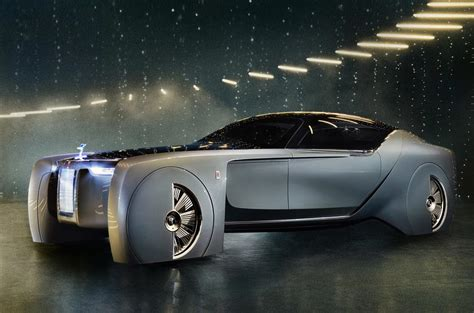 rolls royce vision next 100 concept previews the future of